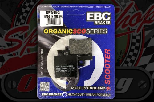 Brake pads common twin pot front or rear SFA193