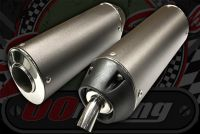 Silencer. End can. Alloy. Awesome  sound reduction.