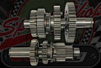 Gear clusters Primary clutch 50cc 70cc 90cc 110cc 4 speed manual or semi All up or all down Skyteam and others