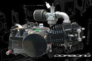 Engine. 125cc. 2 Valve. 11BHP. OORacing. Phase 5 NOW IN BLACK