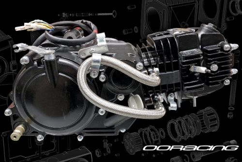 Engine. 125cc. Zongshen High performance 15BHP MADASS125 upgrade NON E-Start