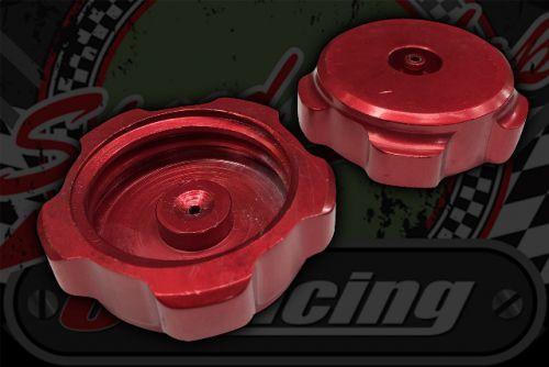 Filler cap CNC old stock no rubber 49mm I/D RED
