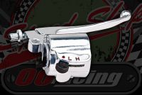 Switch gear universal Alloy R/H with Cable brake lever integral, throttle Tube/Grip