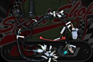 Loom kit and switches standard for Monkey bike or DAX ST SKYMAX running stock charging split phase