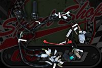 Loom kit and switches standard for Monkey bike running stock charging split phase