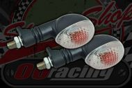 Flasher Bulb type. Oval. Clear. RSV style