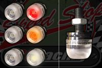Flasher/ side light Micro Head flush. LED. Choice of colour. Price per pair