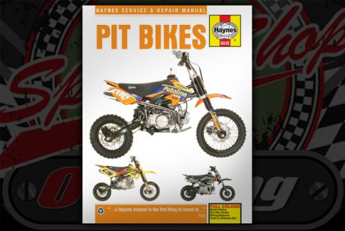 Manual. Haynes. Pit bikes.