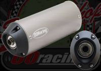 Silencer. End can. Alloy. Mega sound reduction. Reduces to 85Db