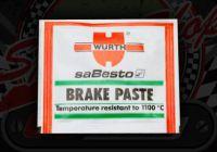 Pads. Brake paste. Copper slip