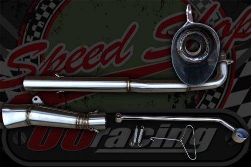 Exhaust race Cub 12V 2 part Race system low