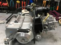 50cc Semi auto Electric start engine removed from brand new Skyteam monkey