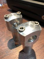 Risers CNC good quality last set 22mm 65mm height