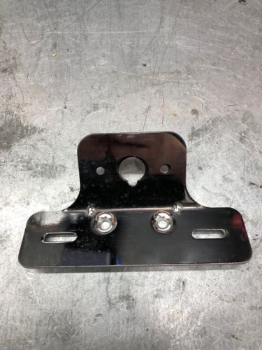 Rack. Bracket. Number plate & rear light bracket from grab rail kits