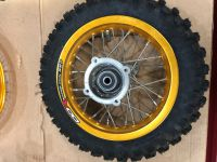 "Wheel rear SDG type 10"" with tyre"