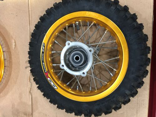 "Wheel rear SDG type 10"" with tyre"