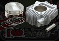 Cylinder kit 4 Valve 63mm ceramic for YX engines