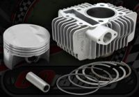 Cylinder kit. 4 Valve. 62mm bore. Ceramic plated