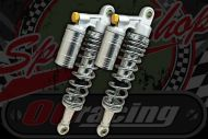Shocks 330mm heavy weight silver with chrome springs Budget