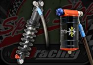 Shock. Rear. Suitable for Madss 50cc & 125cc. Performance Fastace Force. Compression and rebound damping. 235mm