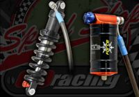 Shock. Rear. Suitable for Madass 50cc & 125cc. Performance Fastace Force. Compression and rebound damping. 235mm