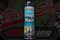 Paint. Tough Chip Resistant. Simoniz Gloss. Aerosol. Black