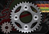 Chain and sprocket kit suitable for MSX 125 with options