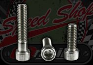 Bolt. M8. 1.25 pitch. Zinc plated. Socket cap. Choice of Length