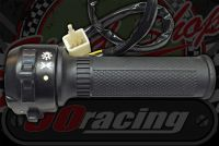 Switch gear. Includes throttle. Suitable for Monkey or Dax BLACK