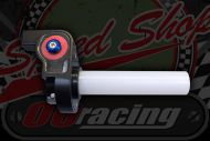 Throttle. Quick action roller. Plastic sleeve