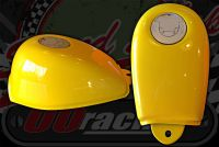 Tank. new Flush fit filler cap YELLOW Suitable for monkey