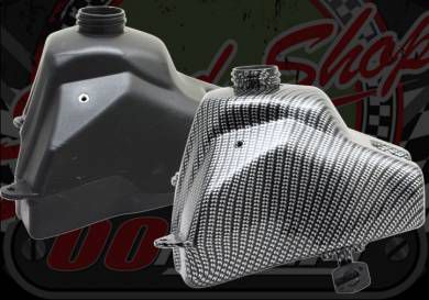 Fuel tank CRF50/pit bike Carbon look or Black