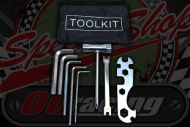 Tool kit plush with pouch