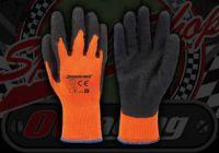 Hi-Vis rubber grip Gloves Orange