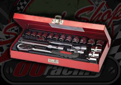 Socket Wrench Set 3/8