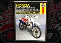 Manual. Honda. XR & CRF. 1985 to 2007
