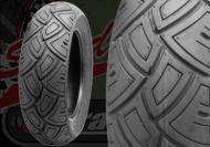 Tyre. Pirelli. SL38. 120/70/10 or 130/70/10.