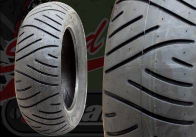 Tyre. Metzeler. 120/70/10 or 130/70/10. ME7 Teen