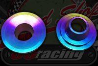 Valve. Caps titanium race use only, 5 Grams each