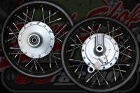 Wheel front pit bike drum brake XR style 10