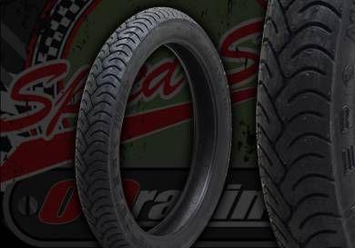 """Tyre. Metzeler. 2.50"""" X 17"""". ME-22"""