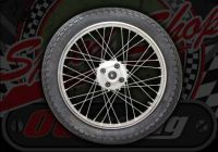Wheel. Rear. Suitable for use with Ace 50 or 125. NO TYRE