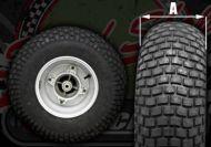 Wheel Kit. Rear. Skyteam. T REX 125. Ideal for custom bike build