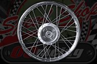 Front Wheel C90 Cub up to 1993 to 2003 (Rim 1.20 x 17) 12.5mm rebated drum 10mm Spindle