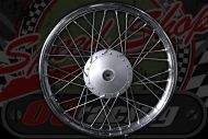 Front Wheel C90 Cub up to 1993 to 2003 (Rim 1.20 x 17) 15mm rebated drum 10mm Spindle