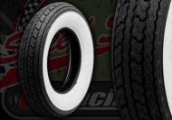 "Tyre. Shinko. 3.50 x 10"" white walls"