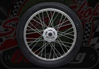 Wheel front 50 or 125 ACE NO TYRE