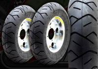 "Wheel Kit. 8"" Steel rims 2.5"". Heidenau Tyres"