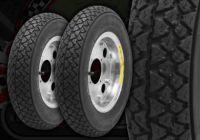 """Wheel kit. 8"""". Steel rims. Michelin S83 Tyre"""