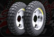 "Wheel kit. 8"". Bridgestone. TW 3.50 tyres"